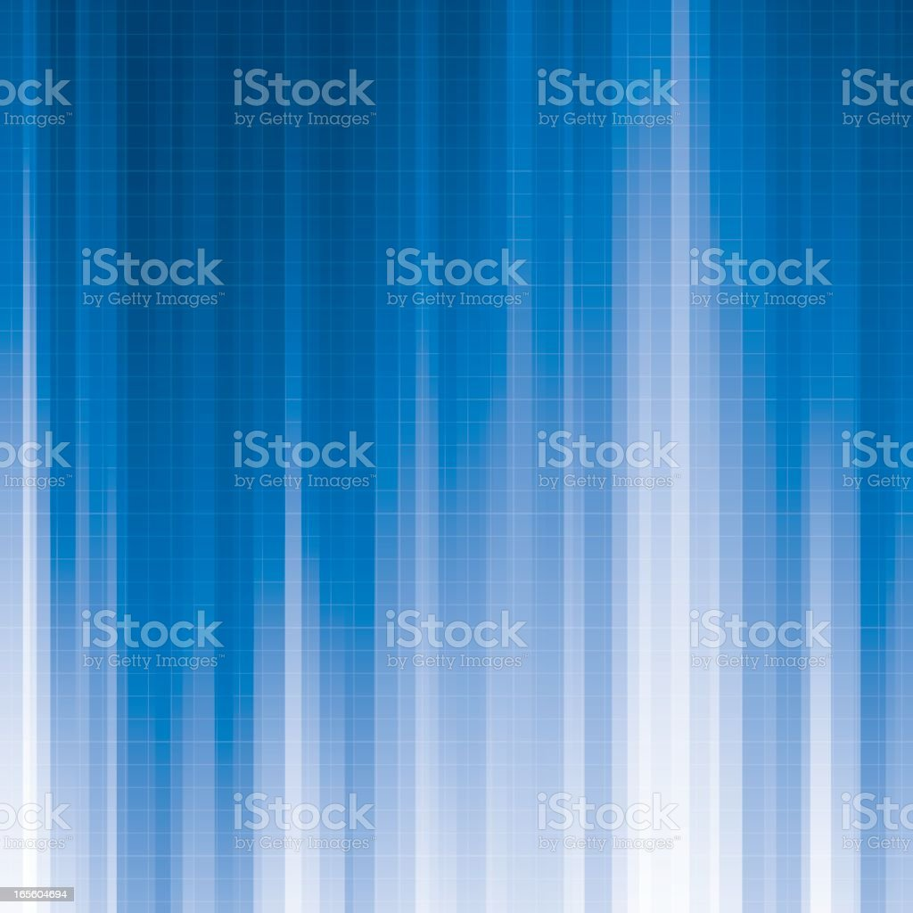 Blue Abstract - Tileable vector art illustration