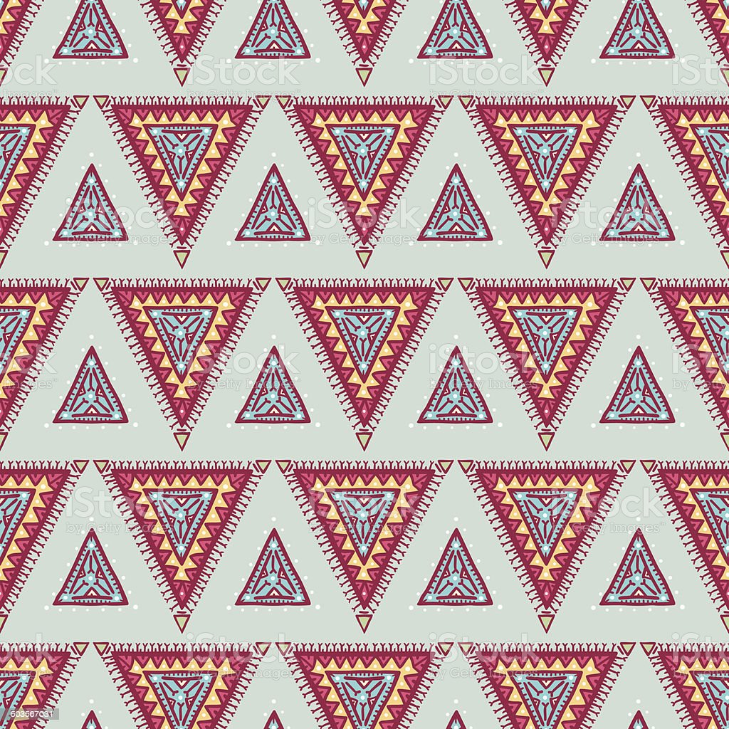 blue and pink triangles royalty-free stock vector art