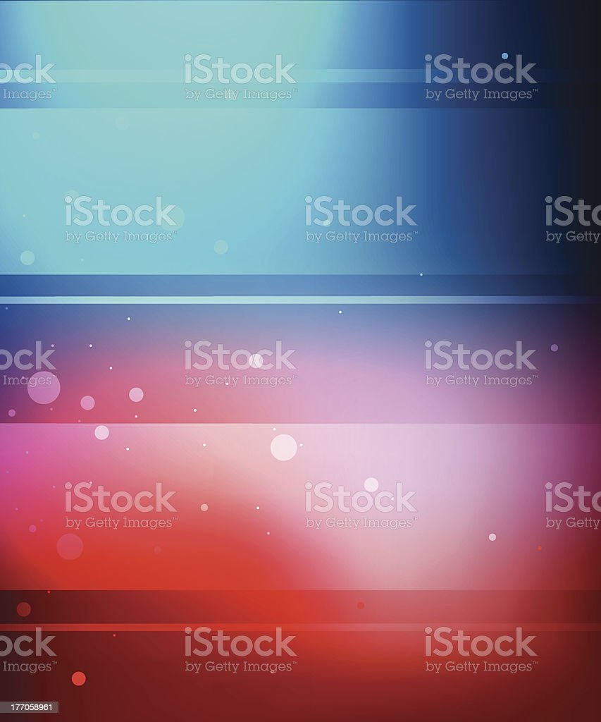 Blue and red background royalty-free stock vector art