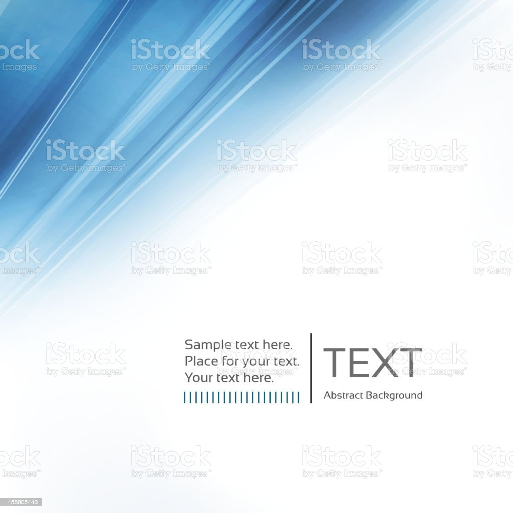 Blue and white graphic background vector art illustration