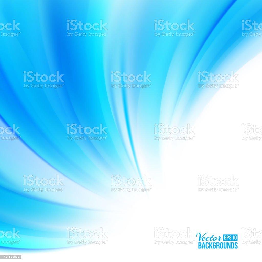 Blue background vector art illustration