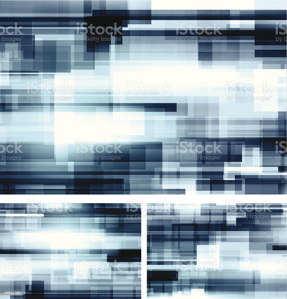 Blue backgrounds royalty-free stock vector art