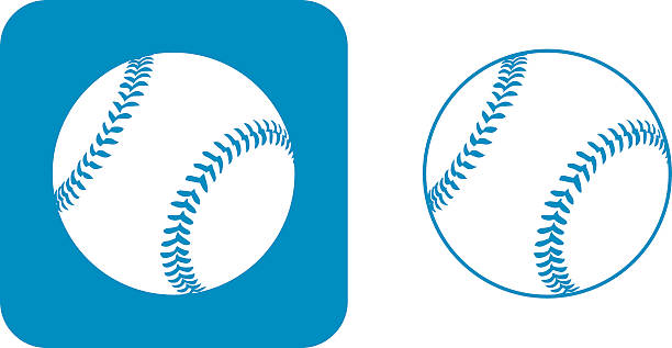 Baseball Ball Clip Art, Vector Images & Illustrations - iStock