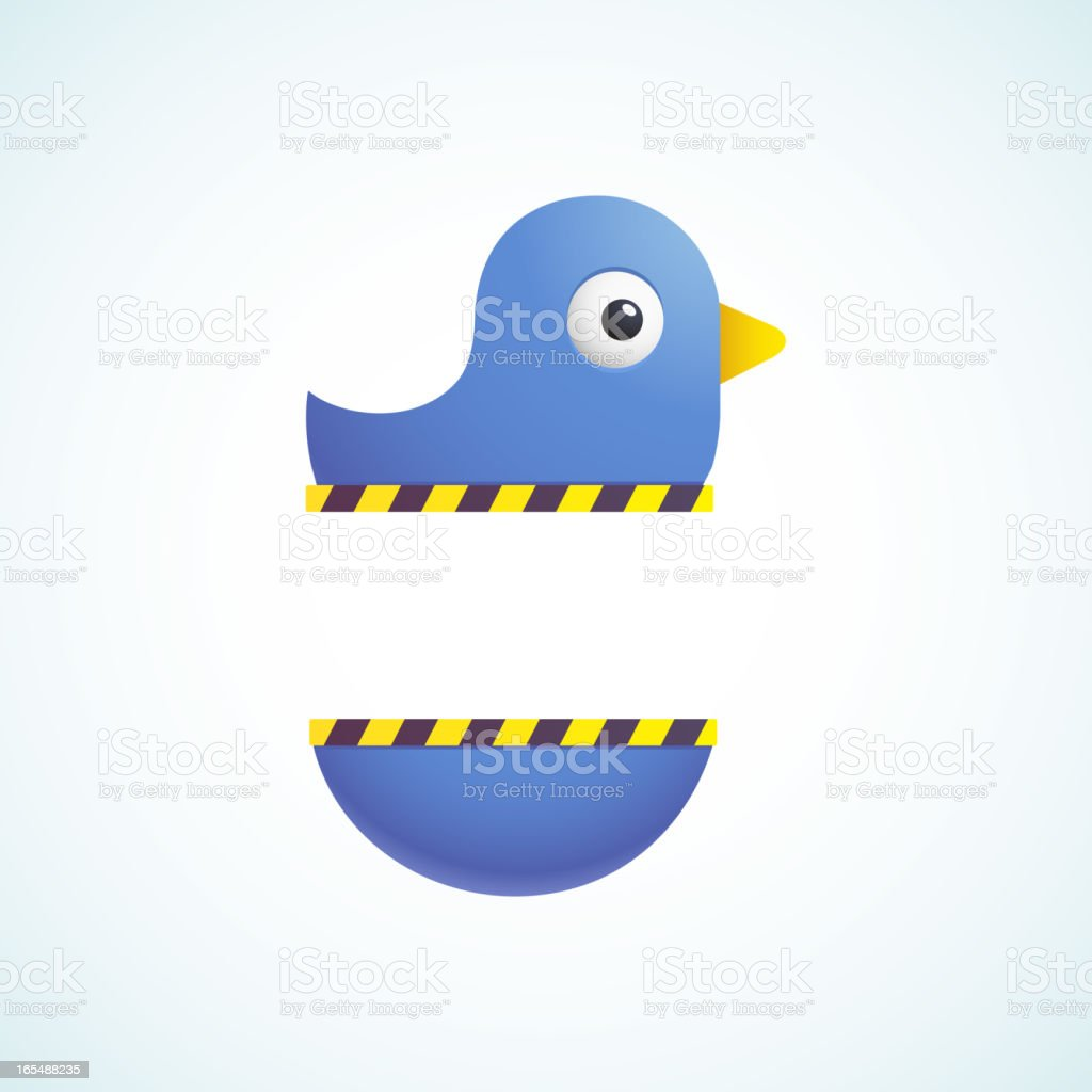 blue bird royalty-free stock vector art