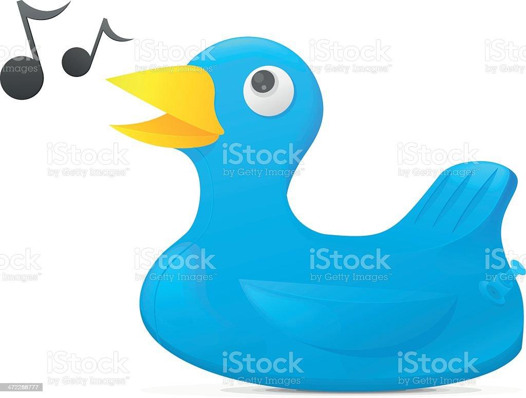 Blue Bird royalty-free stock vector art