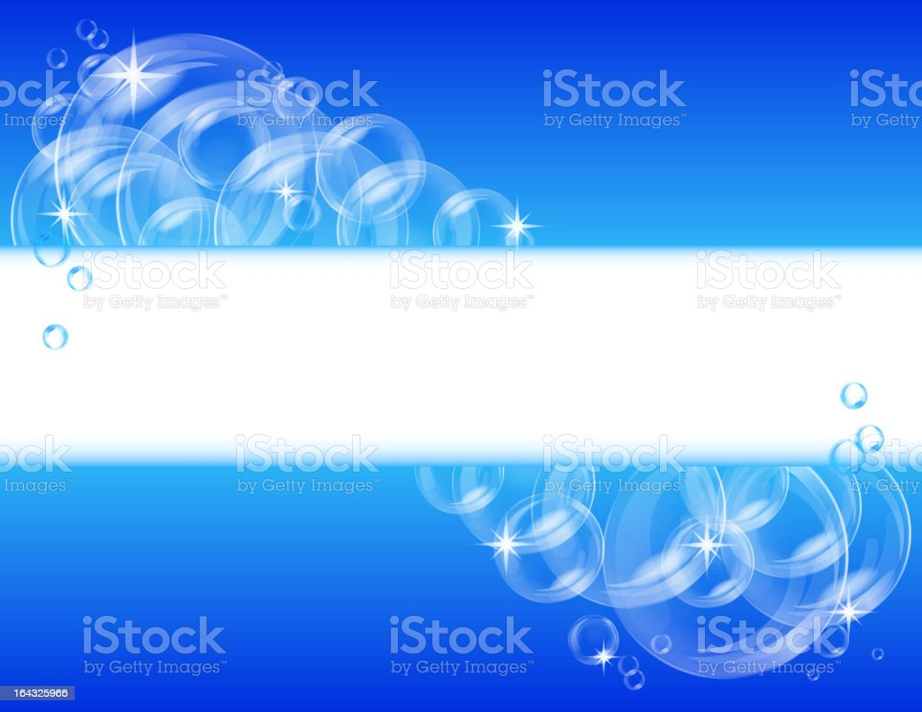 Blue bubble vector background royalty-free stock vector art