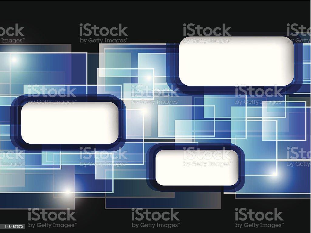 blue card royalty-free stock vector art