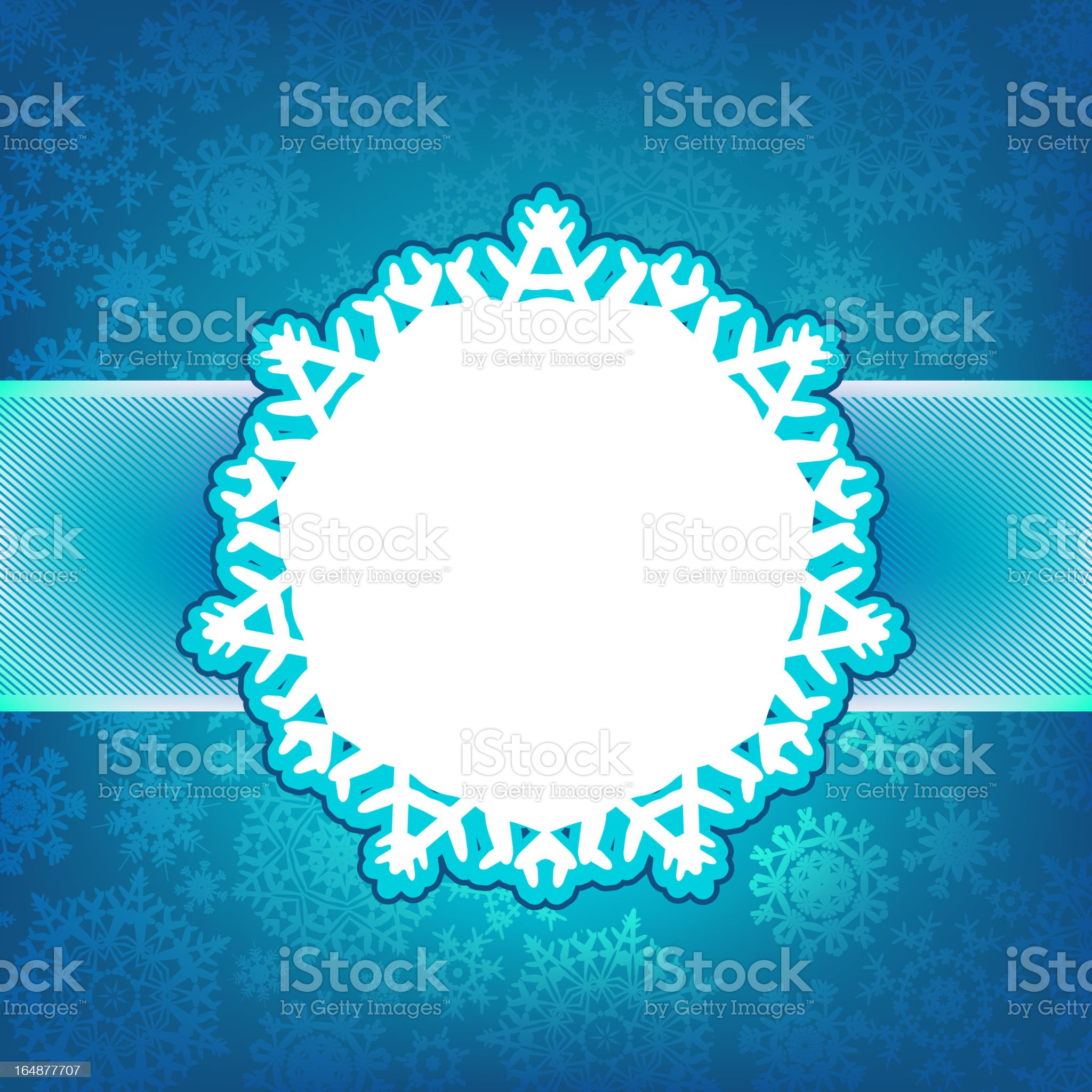 Blue christmas card with glitter light. EPS 8 royalty-free stock vector art