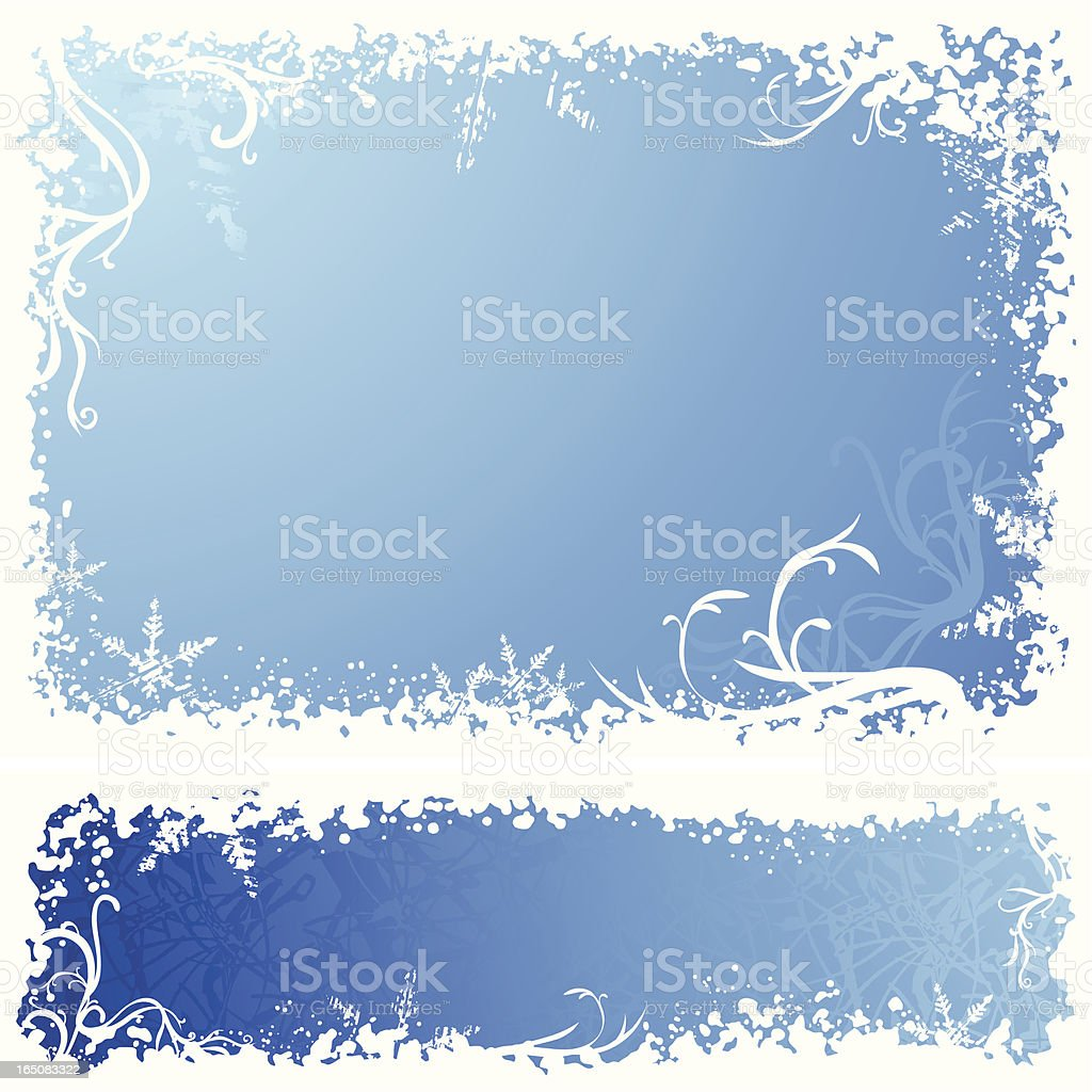 Blue Curl royalty-free stock vector art