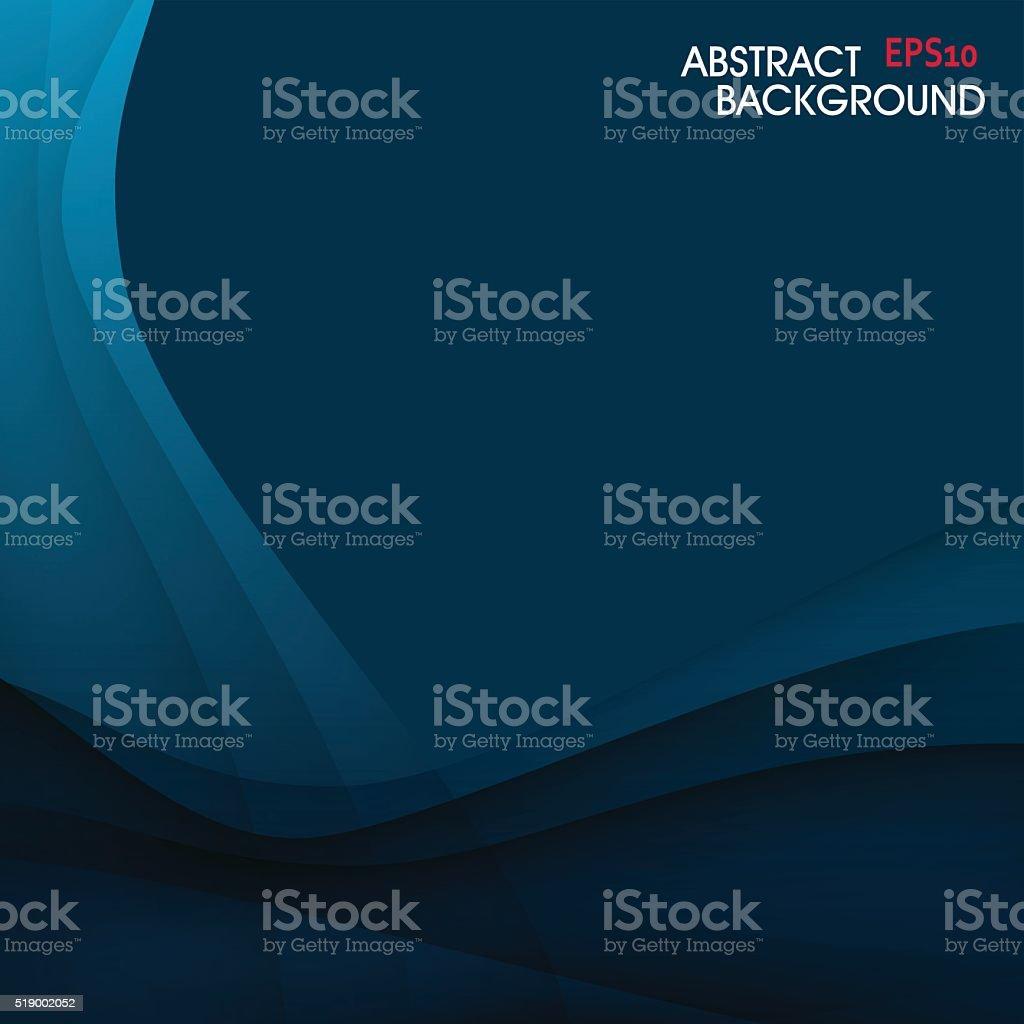 blue curve pattern background vector art illustration