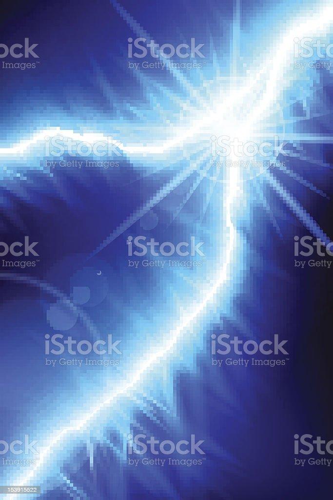 Blue Energy royalty-free stock vector art