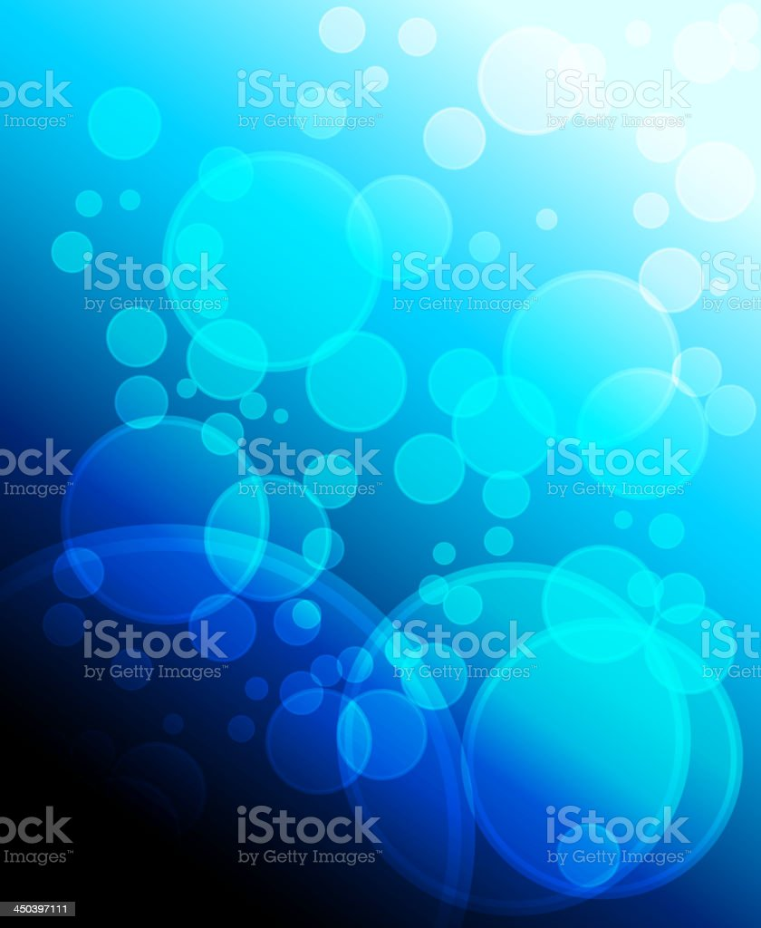 Blue fantasy background royalty-free stock vector art