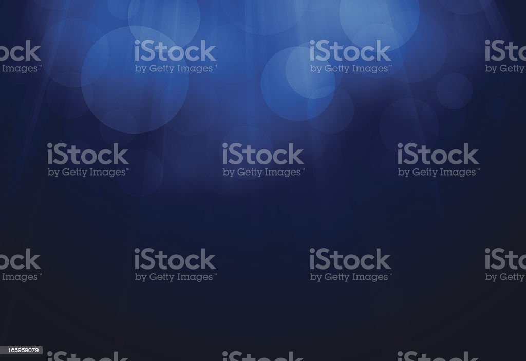 Blue Glow Background vector art illustration