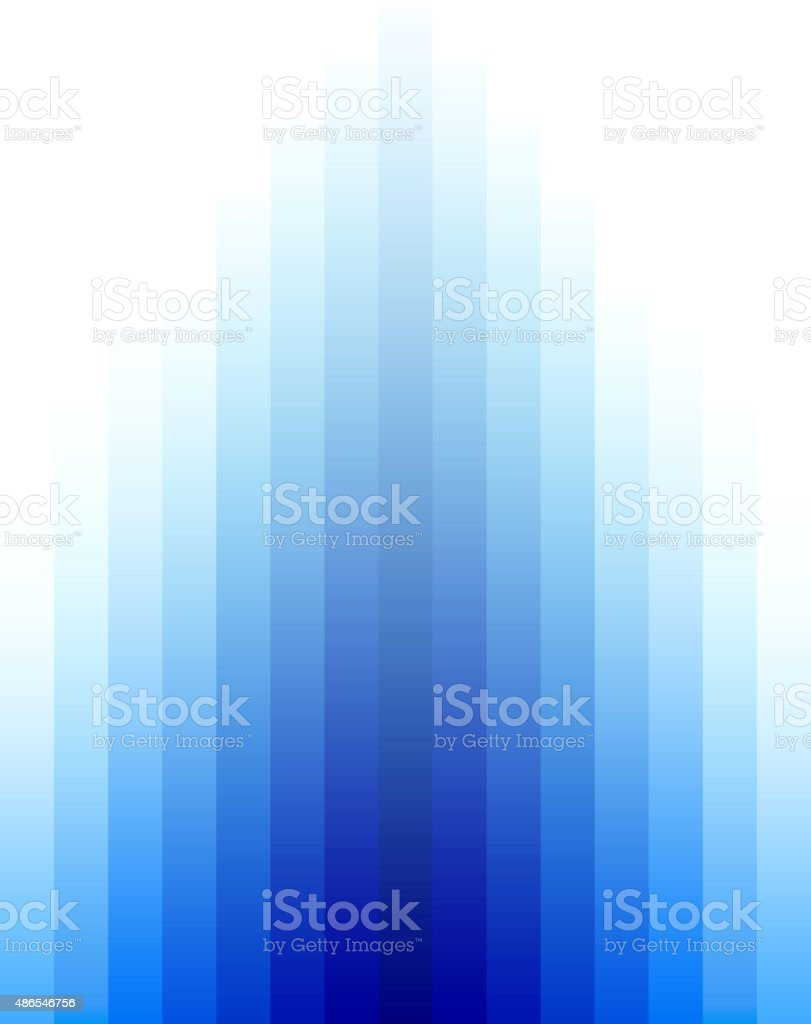 Blue gradient background vector art illustration