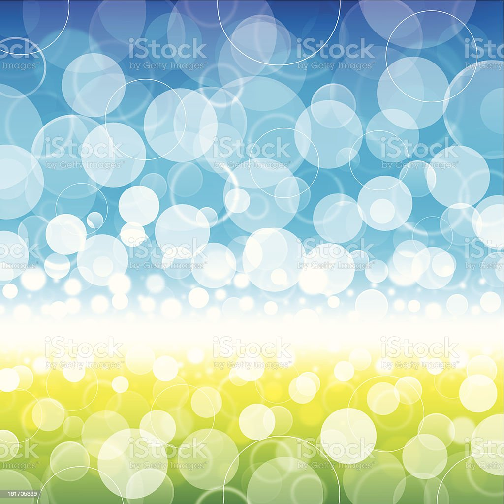blue green background royalty-free stock vector art