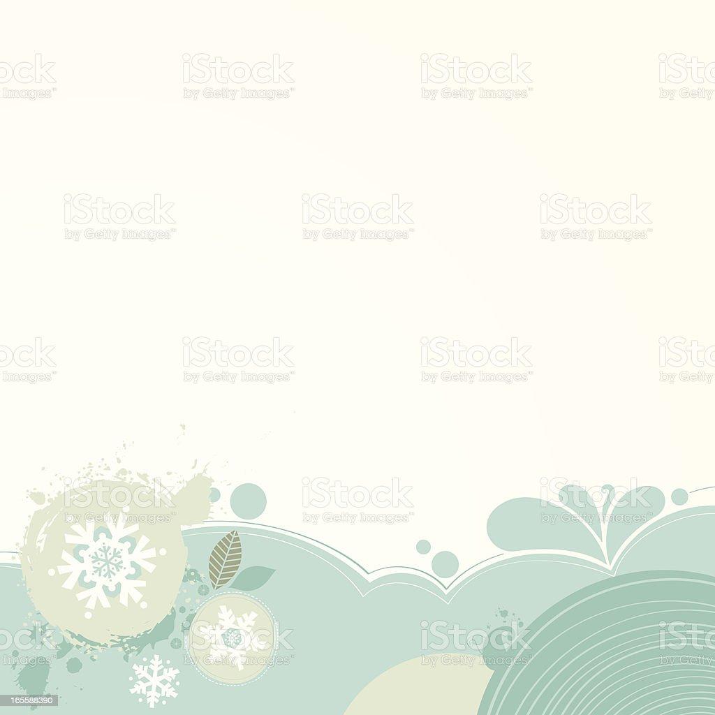 blue grunge xmas background royalty-free stock vector art