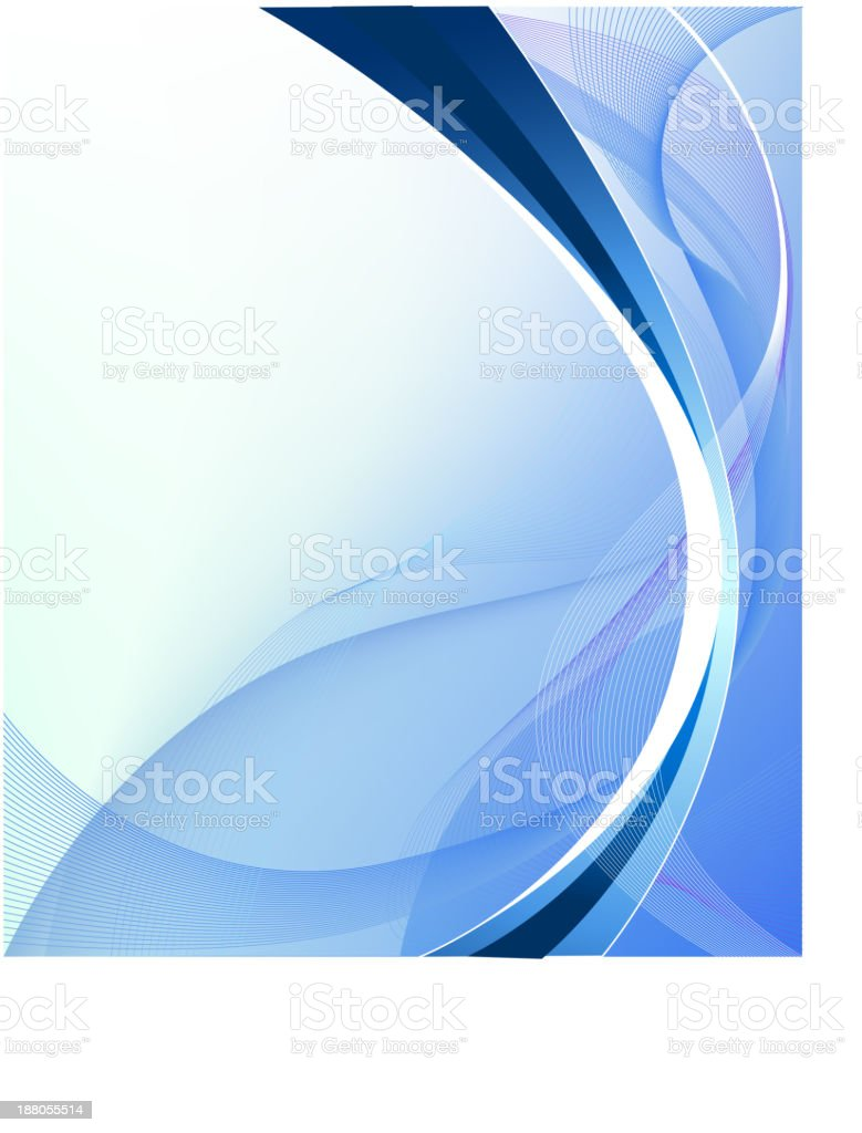Blue holiday abstract background royalty-free stock vector art