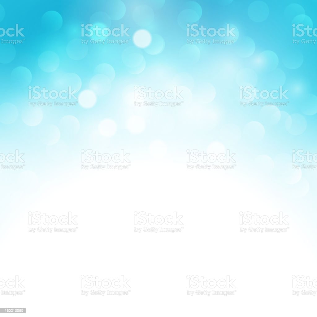 Blue holiday blurred light background royalty-free stock vector art