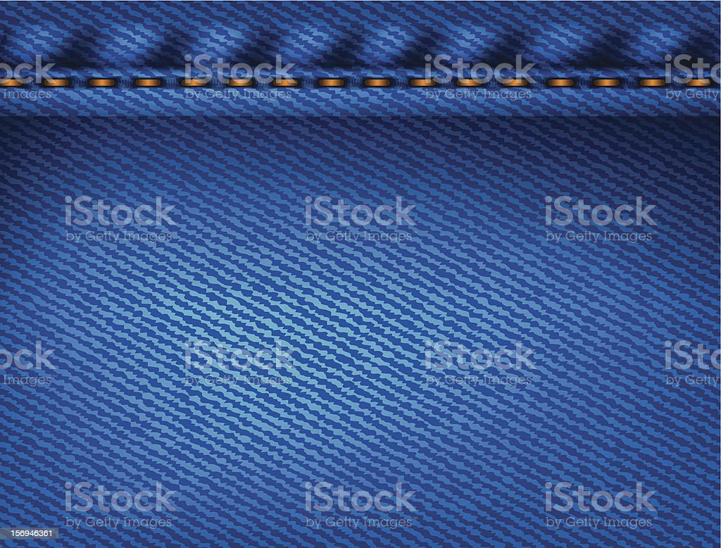 blue jeans texture background royalty-free stock vector art