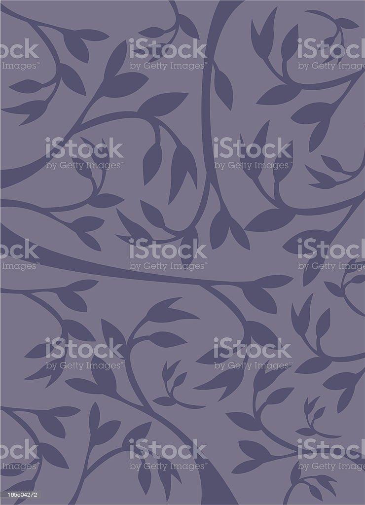 blue leaf harmony royalty-free stock vector art