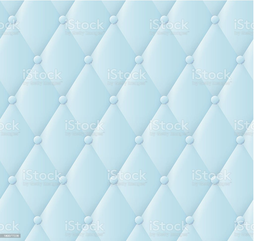 Blue leather upholstery pattern. royalty-free stock vector art