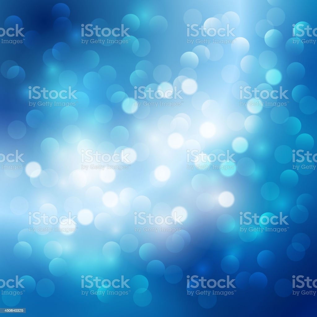 Blue light background vector art illustration