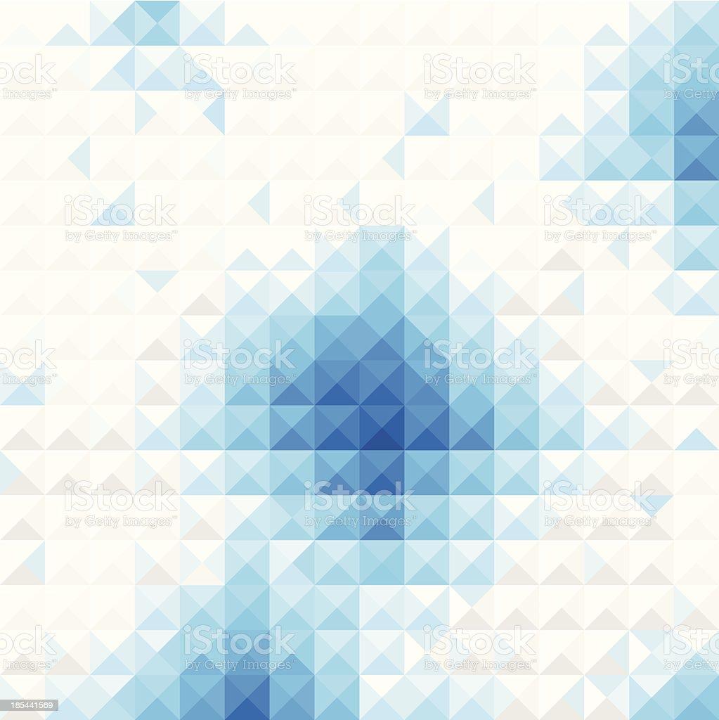 Blue light Mosaic background royalty-free stock vector art