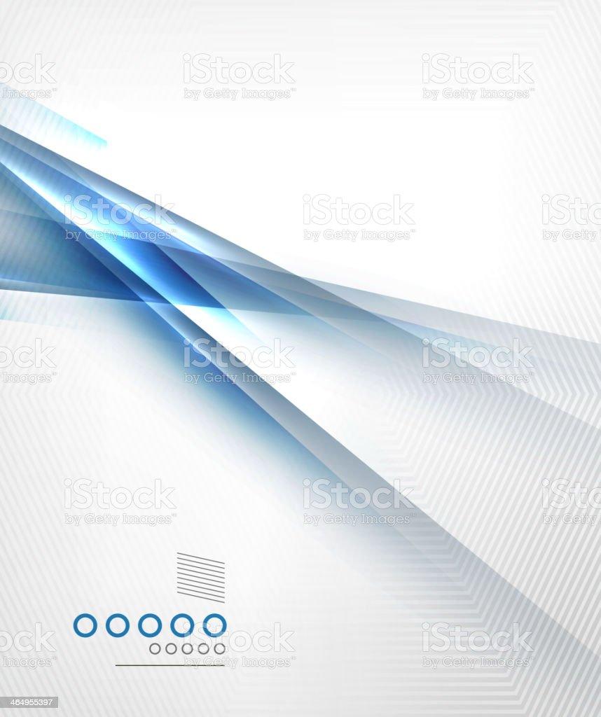 Blue light shadow straight lines design vector art illustration