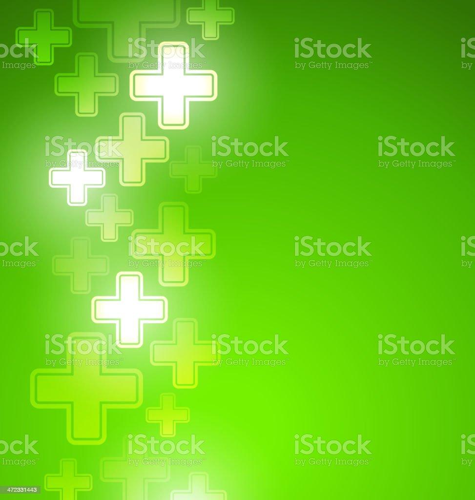 Blue medical design royalty-free stock vector art