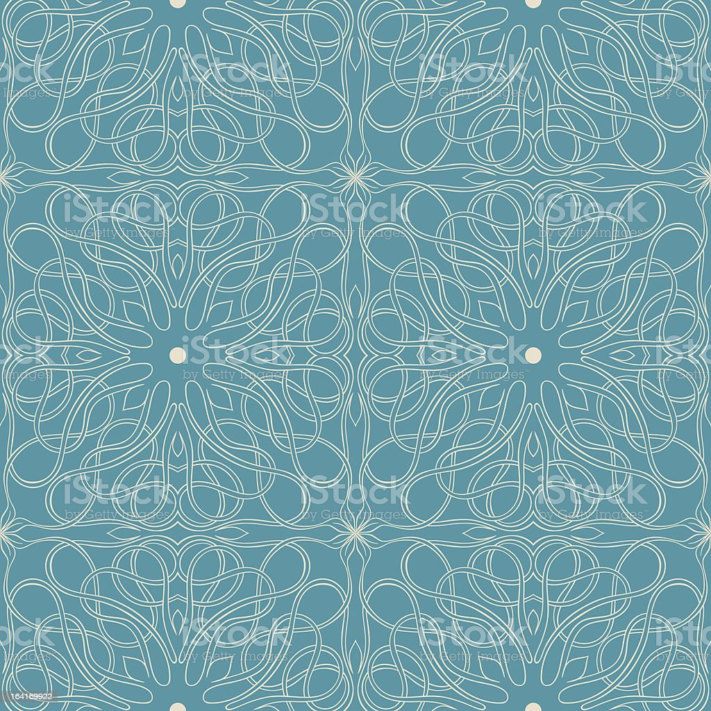blue pattern royalty-free stock vector art