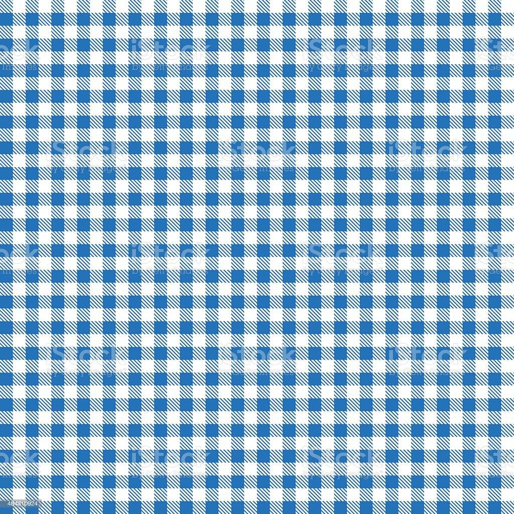 blue patterns tablecloths vector art illustration