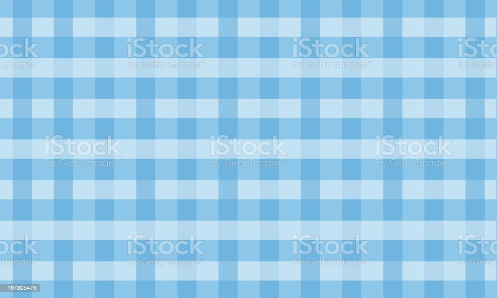 Blue placemat royalty-free stock vector art
