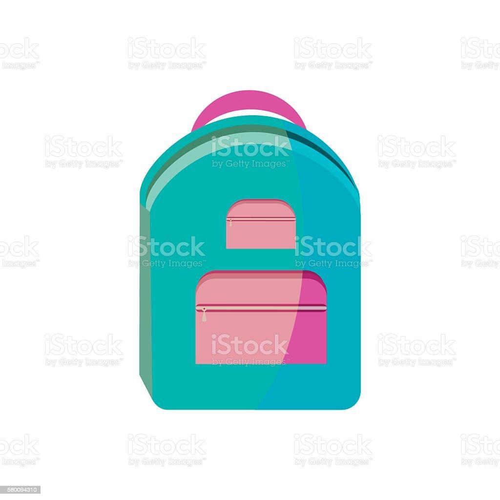 School bag diagram - 1 Credit