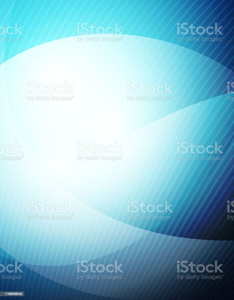 Blue shiny wave background royalty-free stock vector art