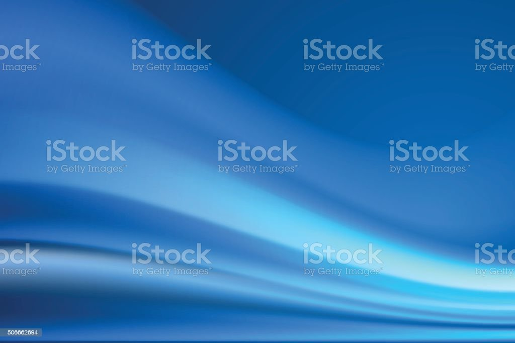Blue smooth abstract royalty-free stock vector art