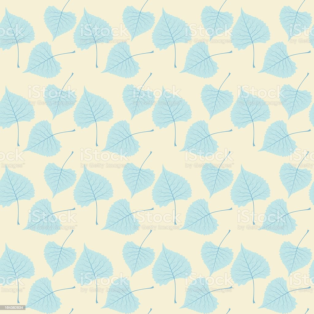 Blue Spring Seamless Pattern royalty-free stock vector art