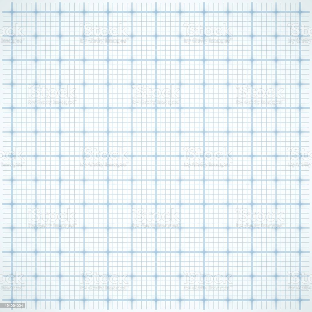 Blue square grid on white background vector art illustration