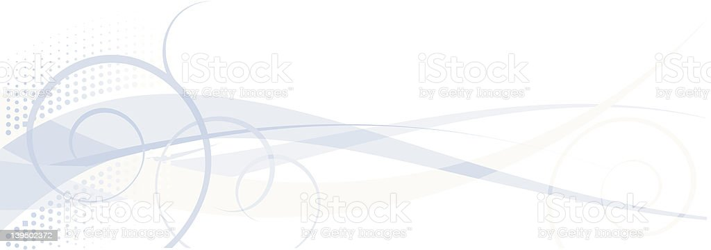 Blue Swirls royalty-free stock vector art