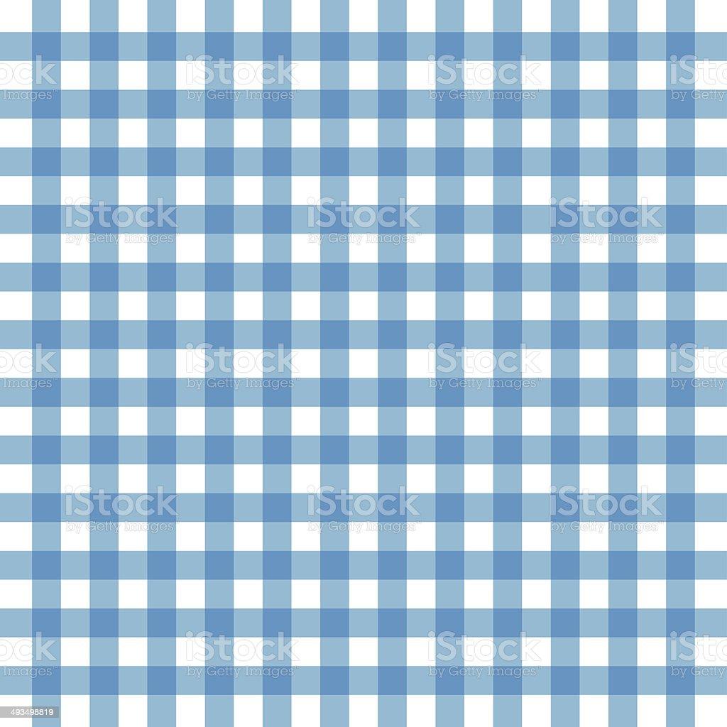 Blue tablecloth background vector art illustration