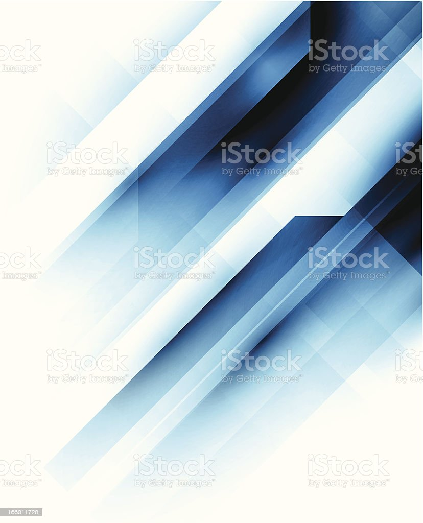 Blue technical background vector art illustration