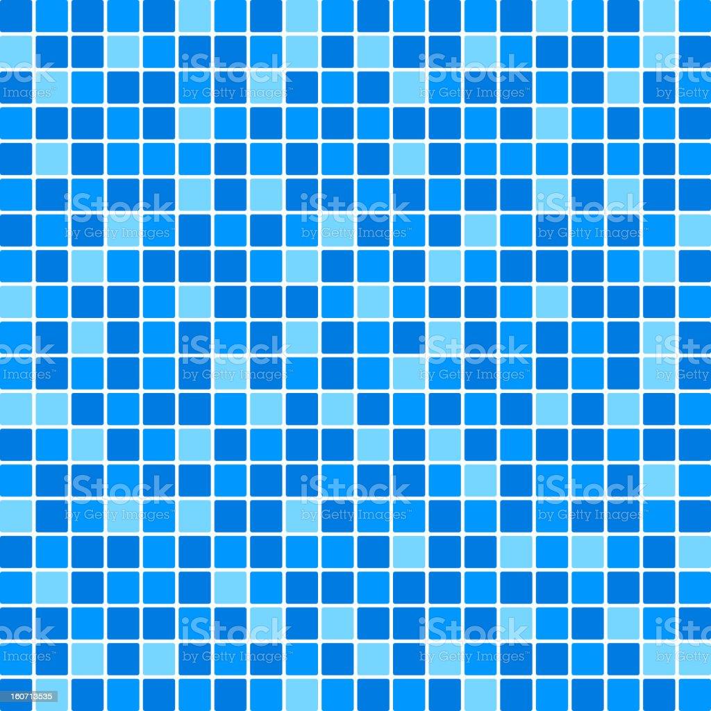 blue tile wall royalty-free stock vector art