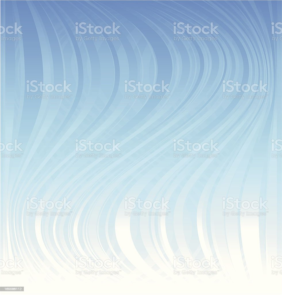 Blue Undercurrent - Background royalty-free stock vector art