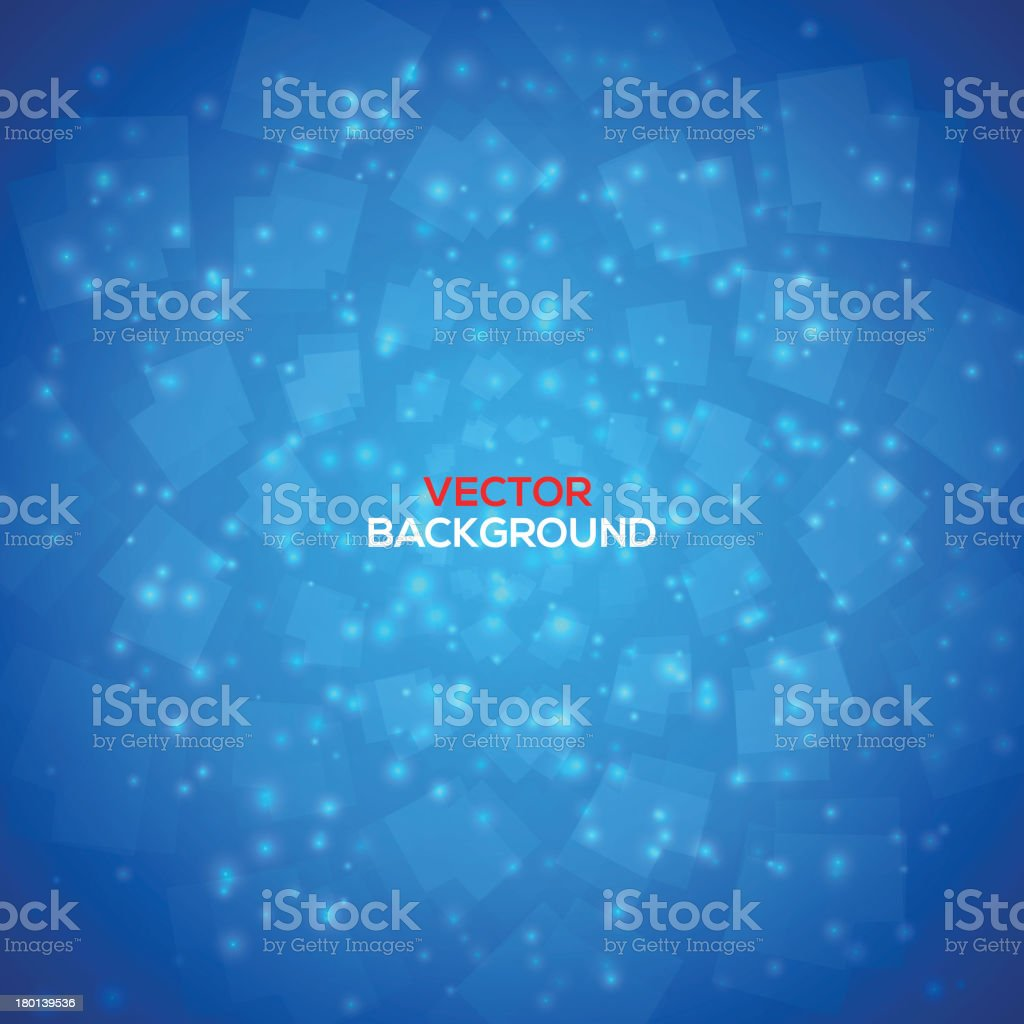 Blue vector abstract background royalty-free stock vector art