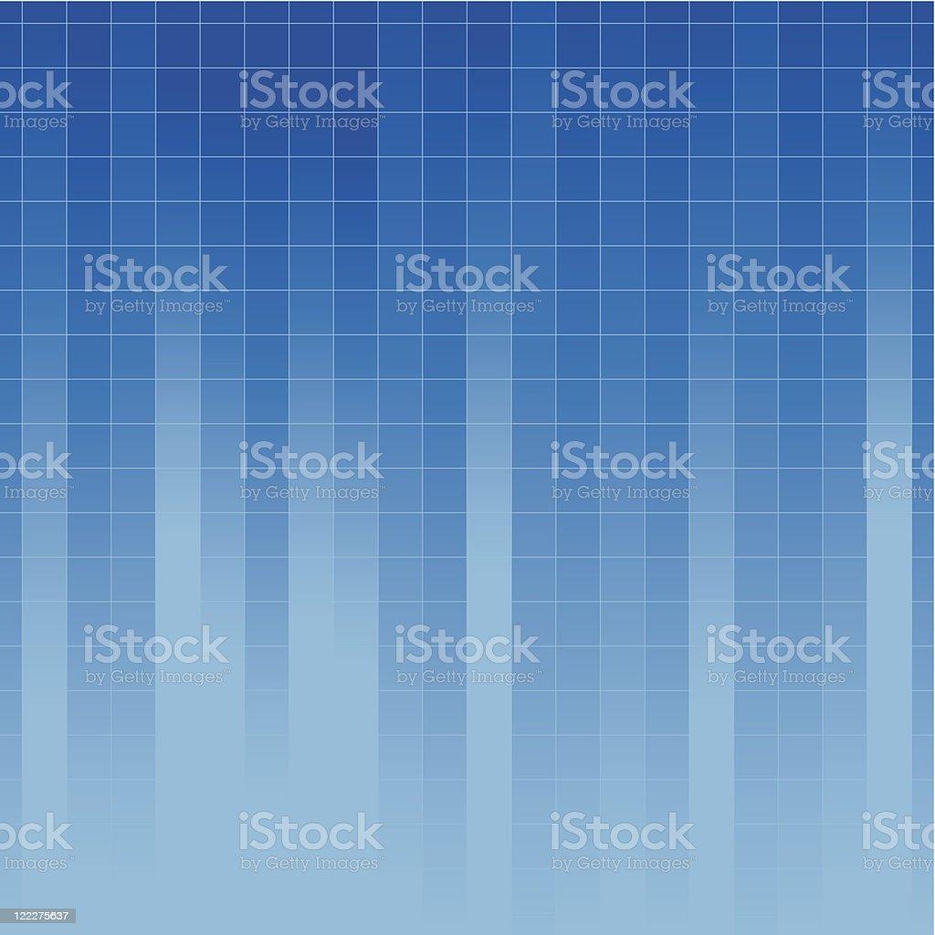 Blue vector Background vector art illustration