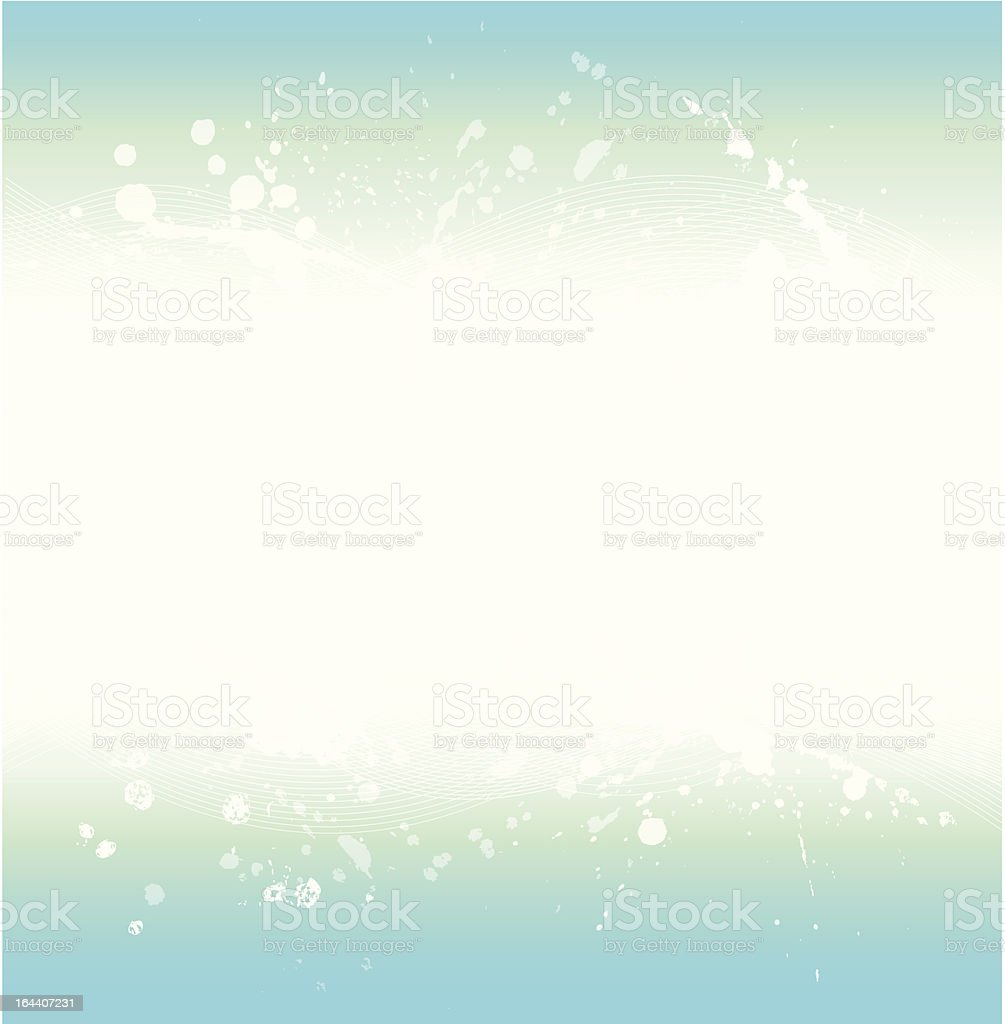 Blue watercolour background royalty-free stock vector art