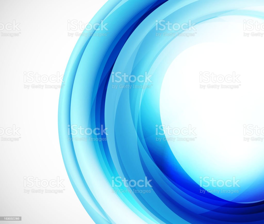 Blue wavy background royalty-free stock vector art