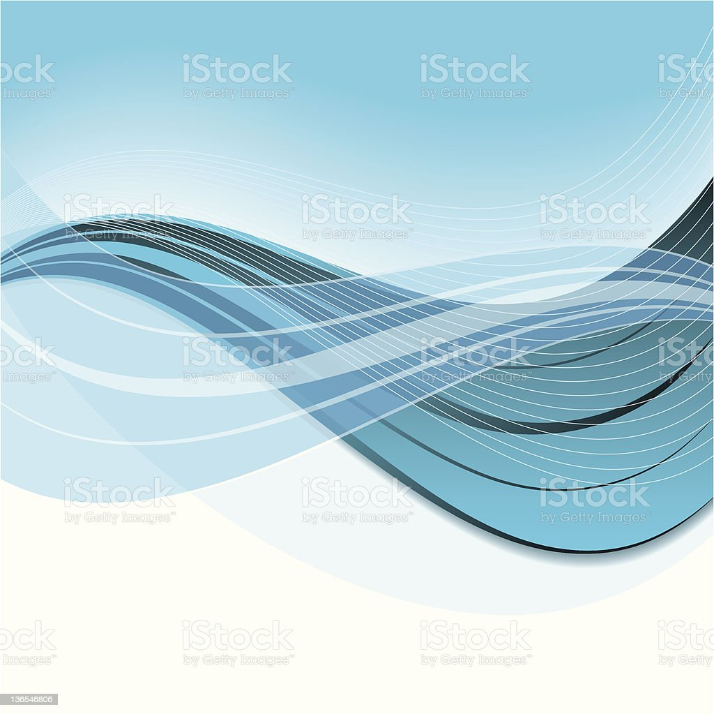 blue white abstract background royalty-free stock vector art