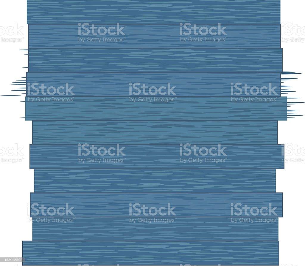Blue Wood Grain Pattern royalty-free stock vector art