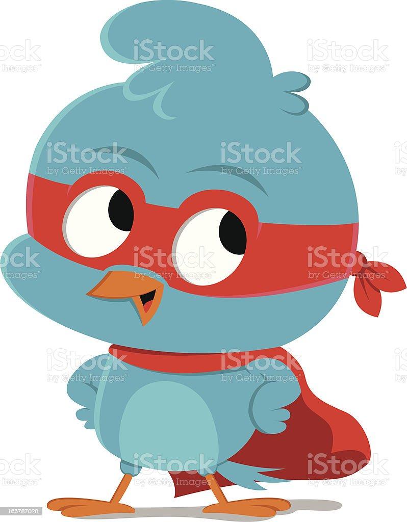 Bluebird hero royalty-free stock vector art