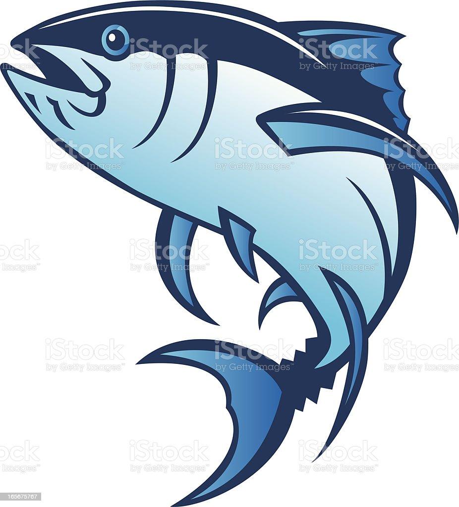bluefin tuna royalty-free stock vector art